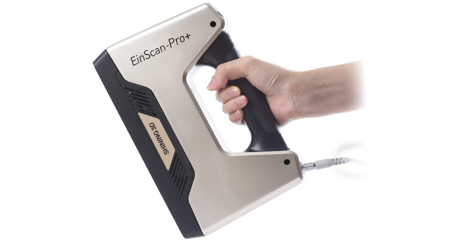 EinScan-Pro+ with R2 Function Multi-Functional Handheld 3D Scanner